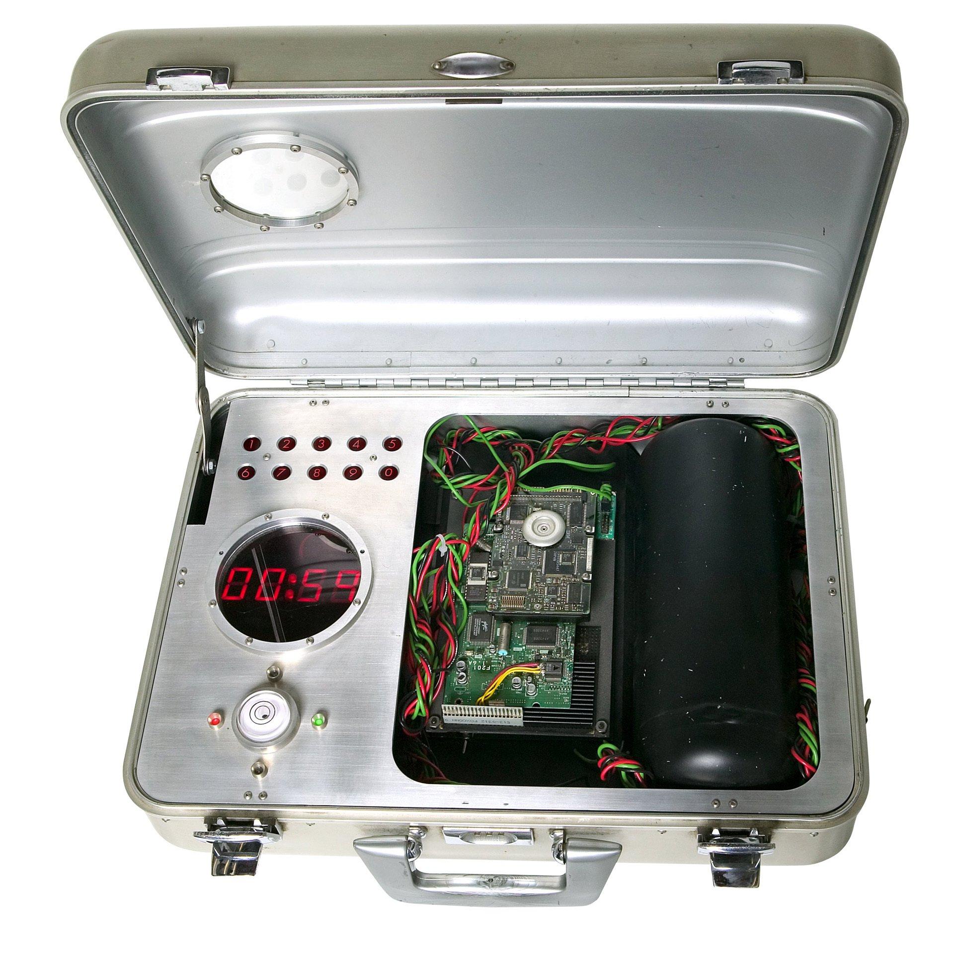 laser tag bomb prop